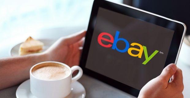 Планшет с логотипом ebay