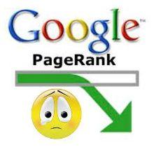 Почеу упал PageRank